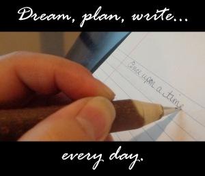 dream plan write
