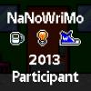 2013 NaNo Participant FB Profile