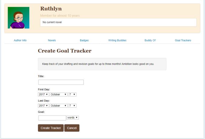 goal trackers
