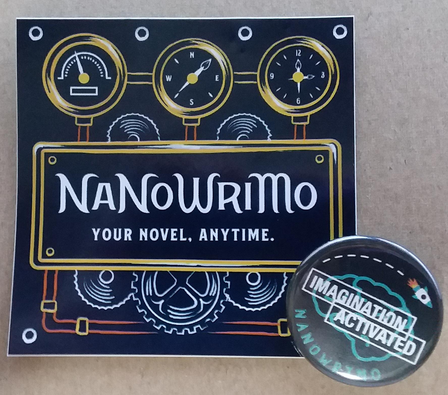 NaNo handouts